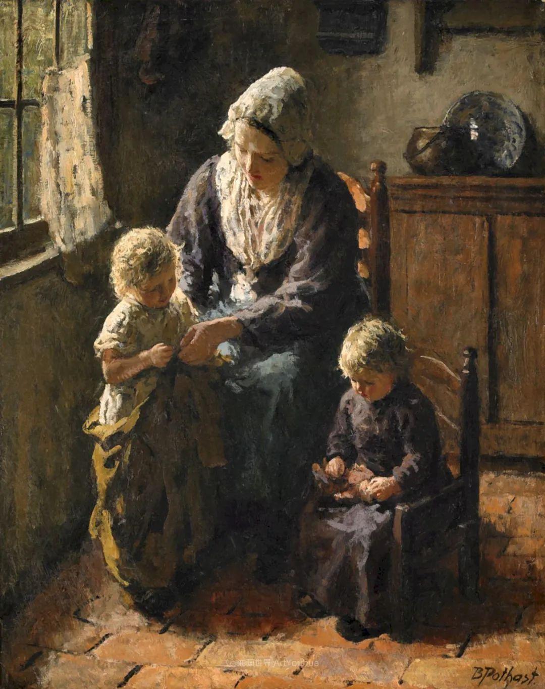 用自然光渲染的母亲与孩子,很有爱!插图55