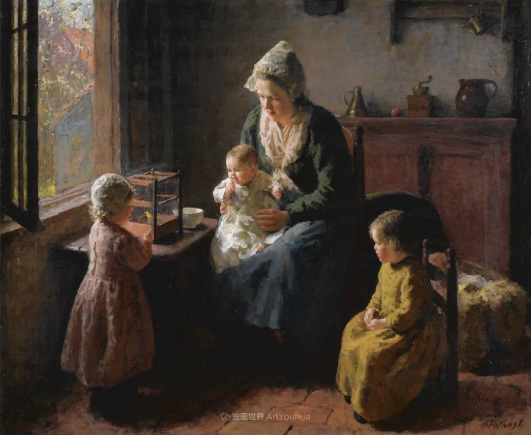 用自然光渲染的母亲与孩子,很有爱!插图63