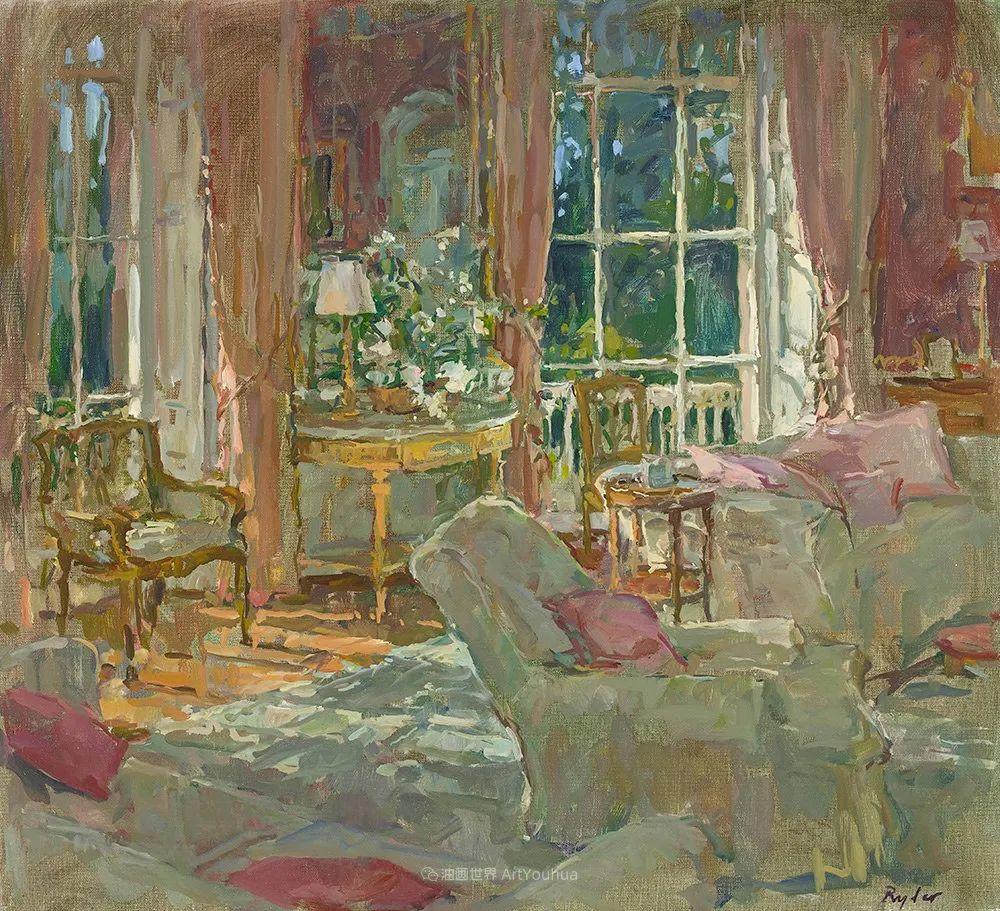 光彩的室内、明媚的露台,冷暖色调都很赞!插图75