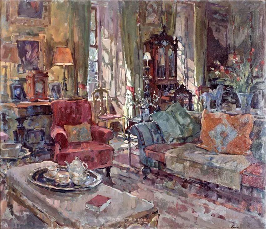 光彩的室内、明媚的露台,冷暖色调都很赞!插图109