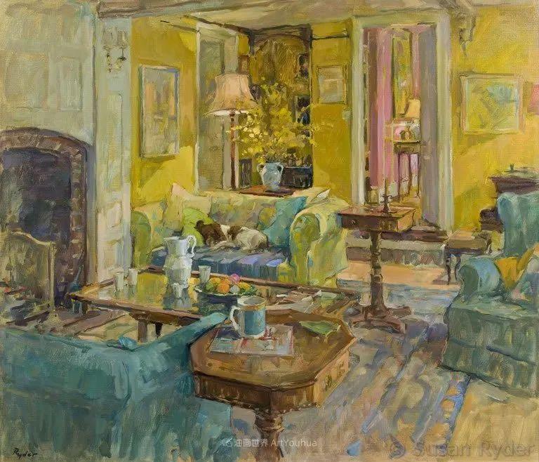 光彩的室内、明媚的露台,冷暖色调都很赞!插图127
