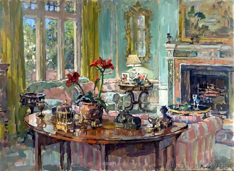 光彩的室内、明媚的露台,冷暖色调都很赞!插图129