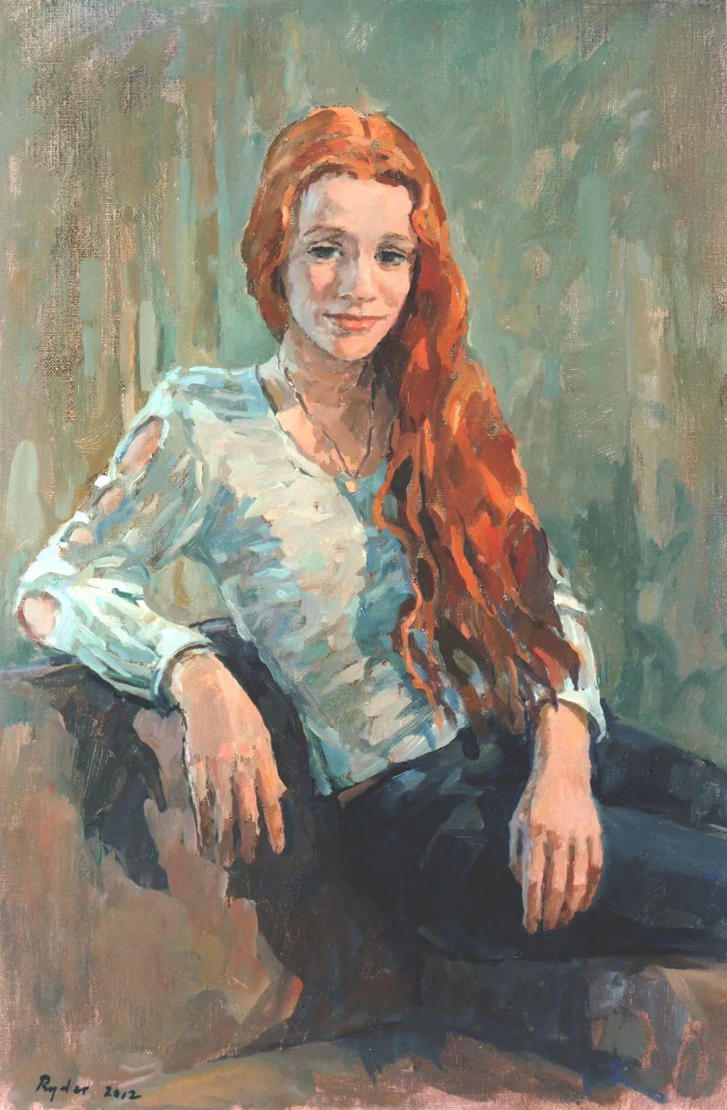 英国女画家苏珊·莱德人物作品插图3