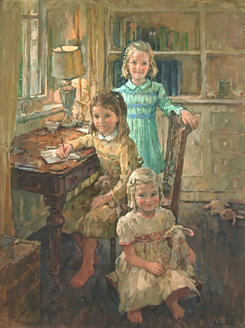 英国女画家苏珊·莱德人物作品插图9