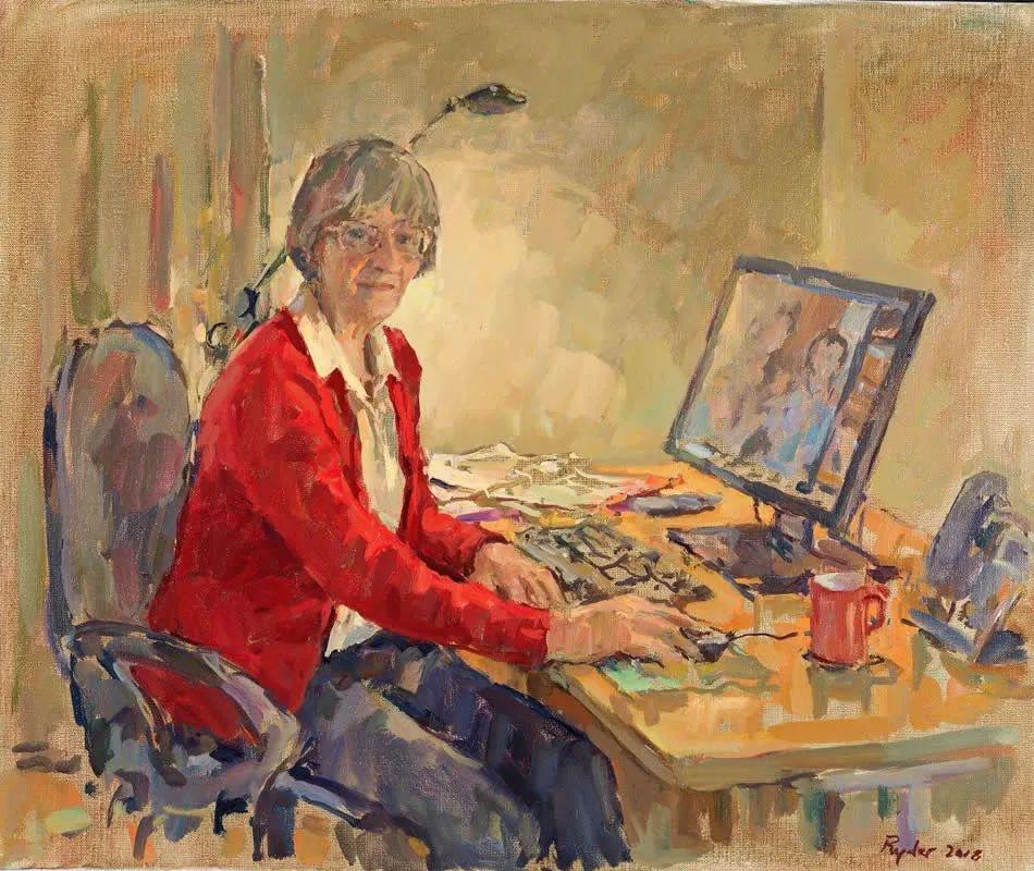 英国女画家苏珊·莱德人物作品插图11