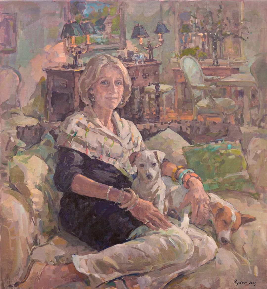 英国女画家苏珊·莱德人物作品插图15