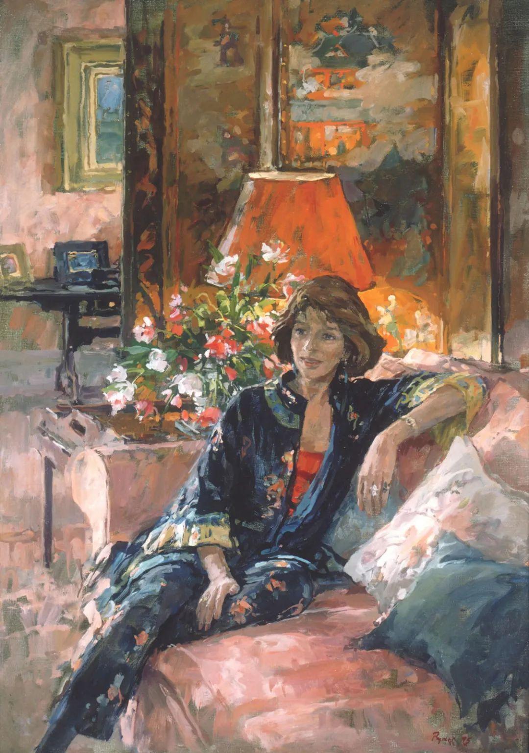 英国女画家苏珊·莱德人物作品插图17