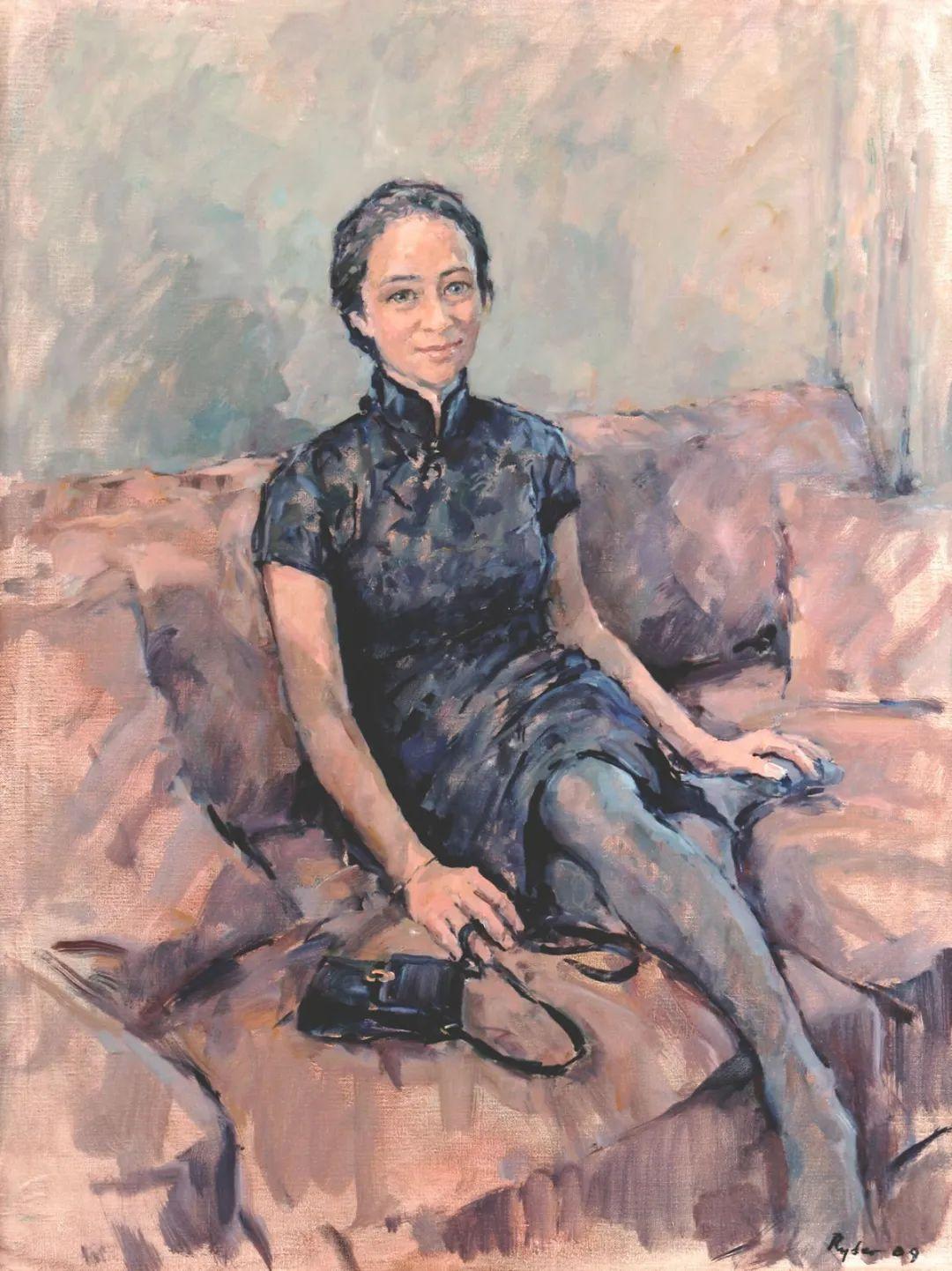 英国女画家苏珊·莱德人物作品插图19