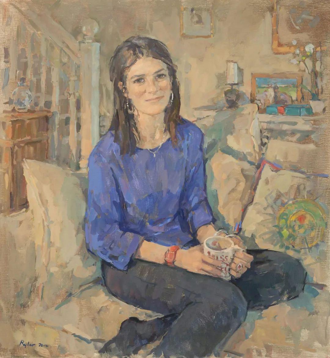 英国女画家苏珊·莱德人物作品插图21