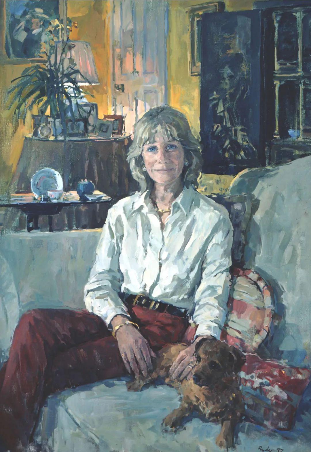 英国女画家苏珊·莱德人物作品插图25
