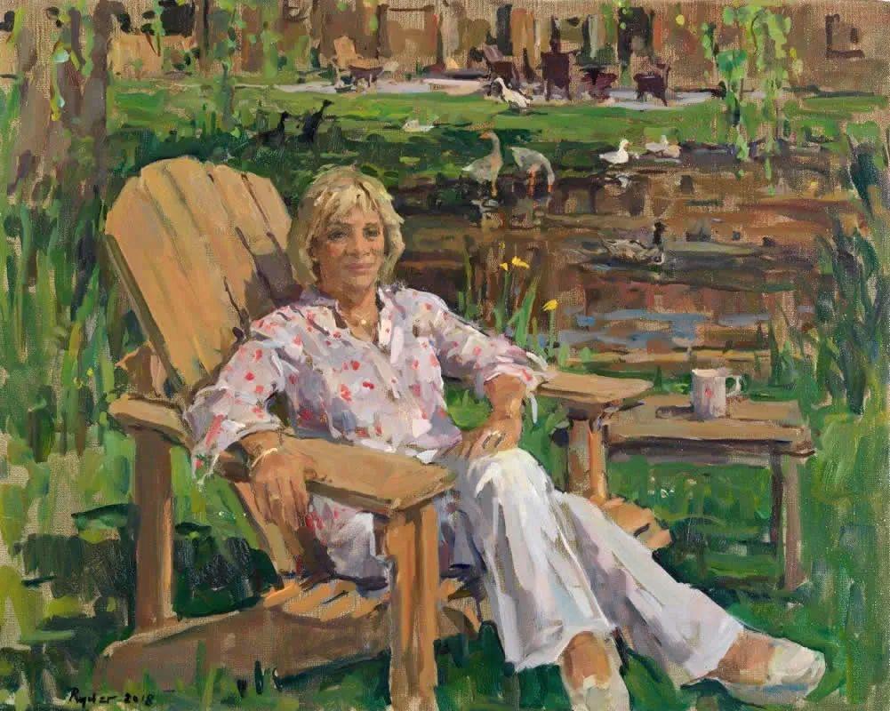 英国女画家苏珊·莱德人物作品插图33