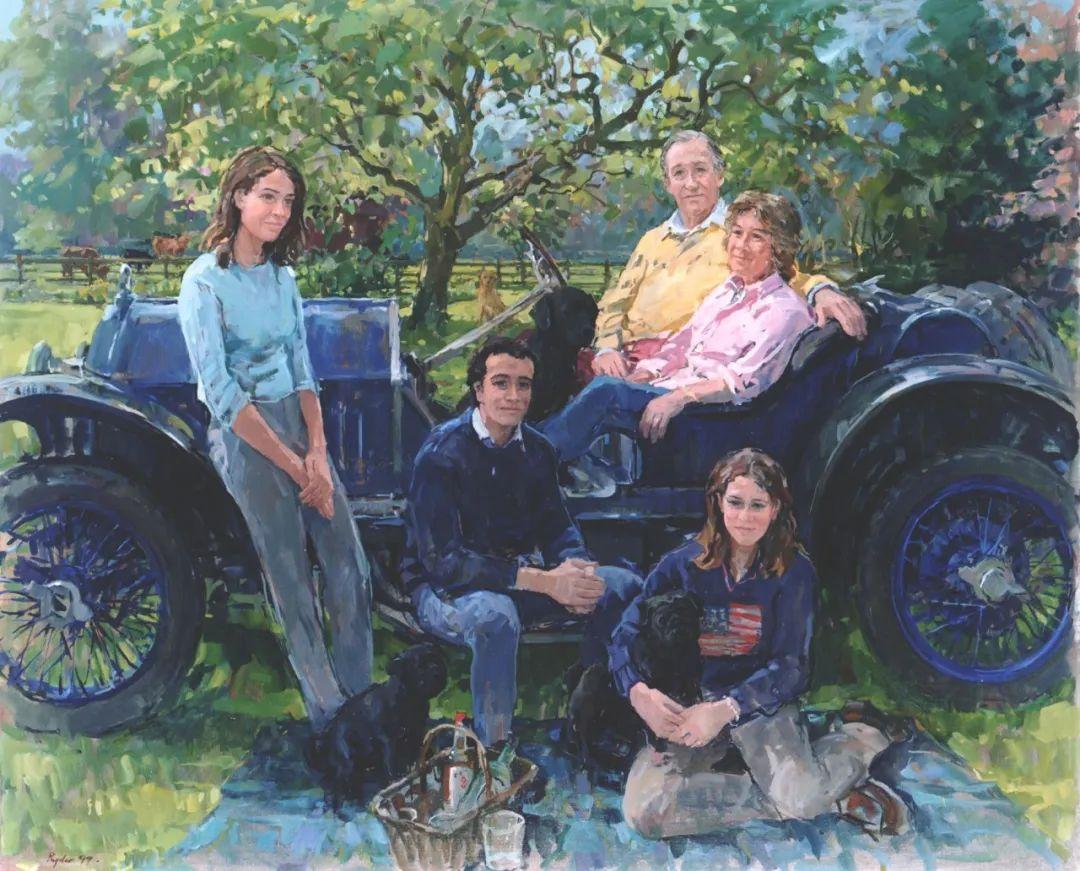 英国女画家苏珊·莱德人物作品插图41