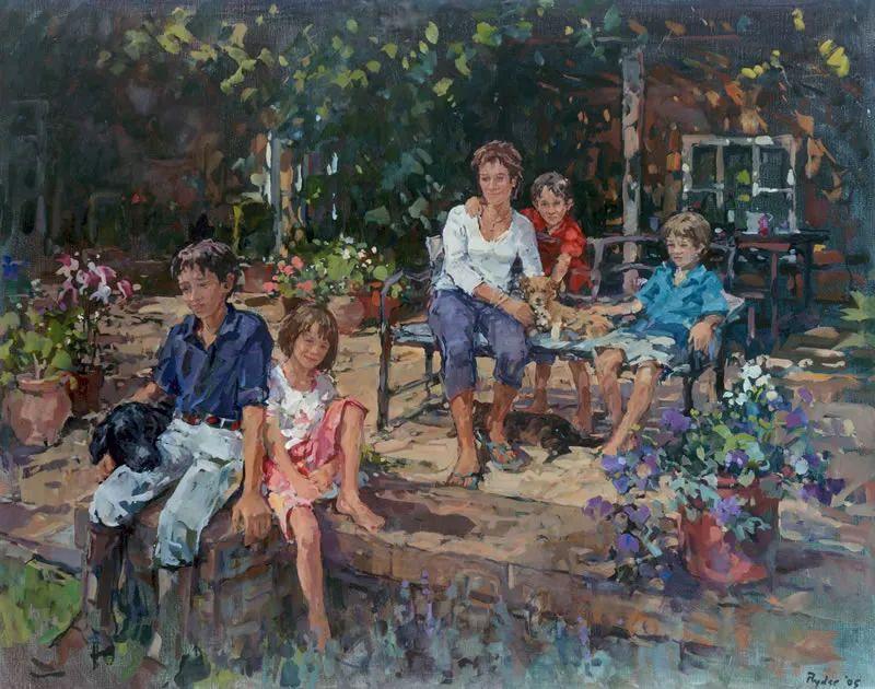 英国女画家苏珊·莱德人物作品插图45