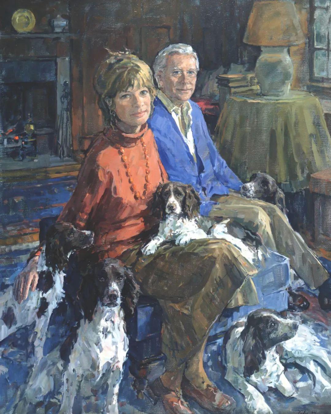 英国女画家苏珊·莱德人物作品插图47