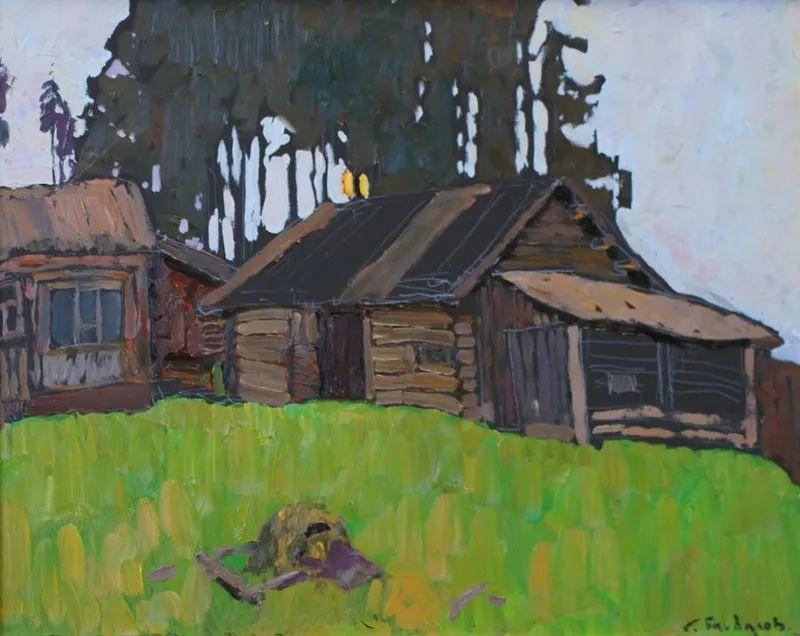 浓郁迷人的风景画,俄罗斯画家Bakhvalov Stanislav作品插图123