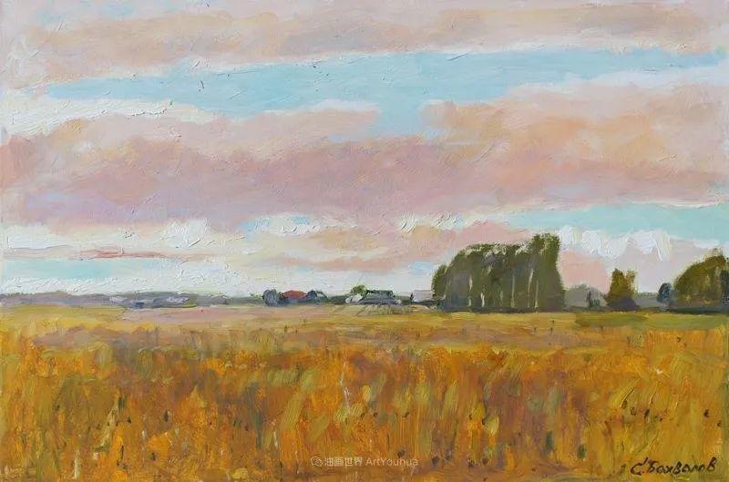 浓郁迷人的风景画,俄罗斯画家Bakhvalov Stanislav作品插图165