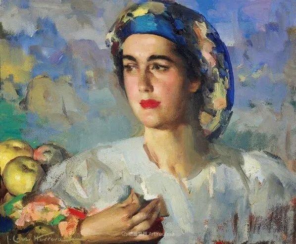 西班牙画家何塞·克鲁斯·埃雷拉人物作品欣赏插图5