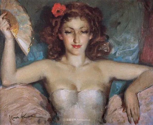 西班牙画家何塞·克鲁斯·埃雷拉人物作品欣赏插图7
