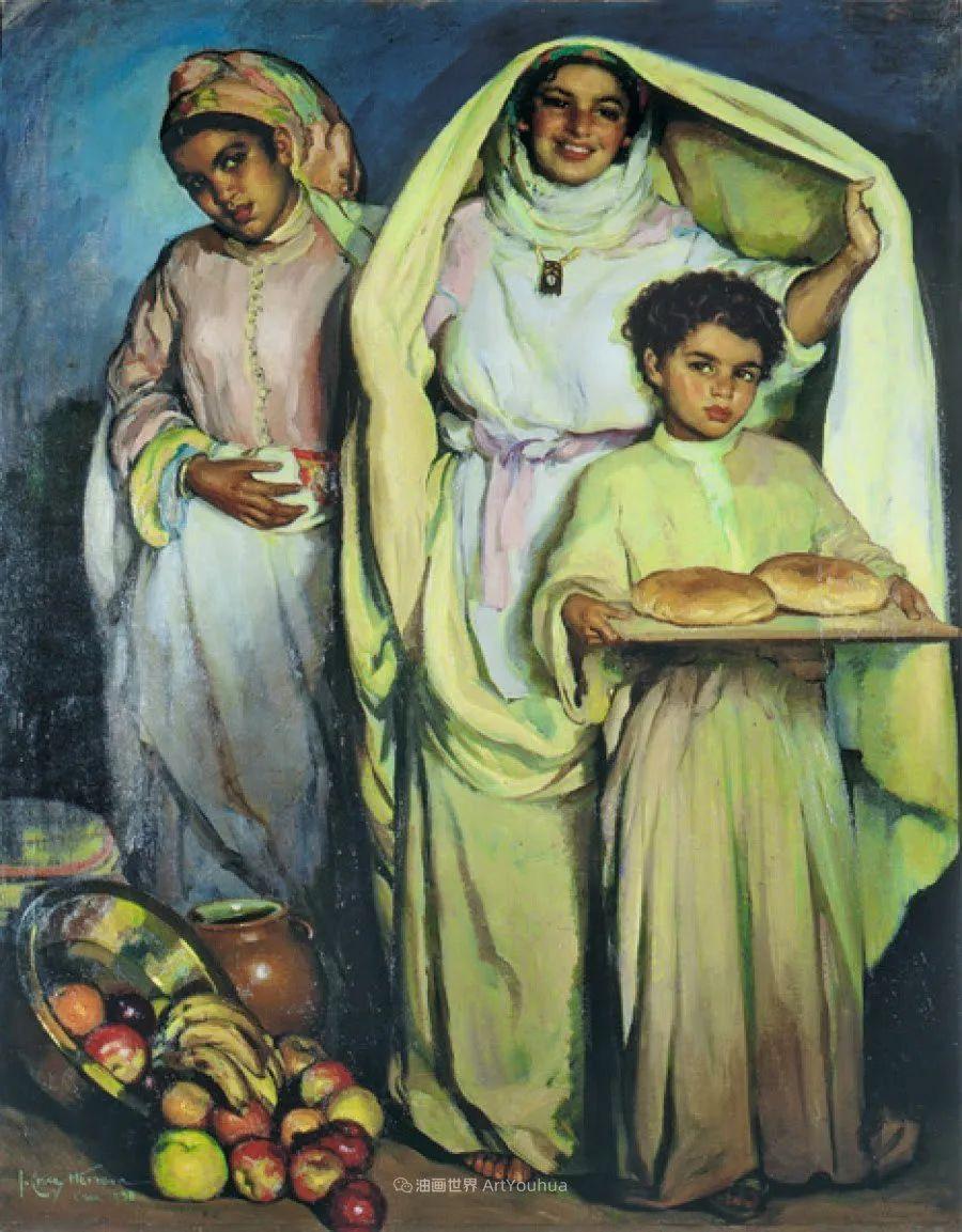 西班牙画家何塞·克鲁斯·埃雷拉人物作品欣赏插图11