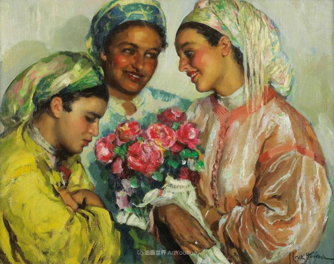 西班牙画家何塞·克鲁斯·埃雷拉人物作品欣赏插图13