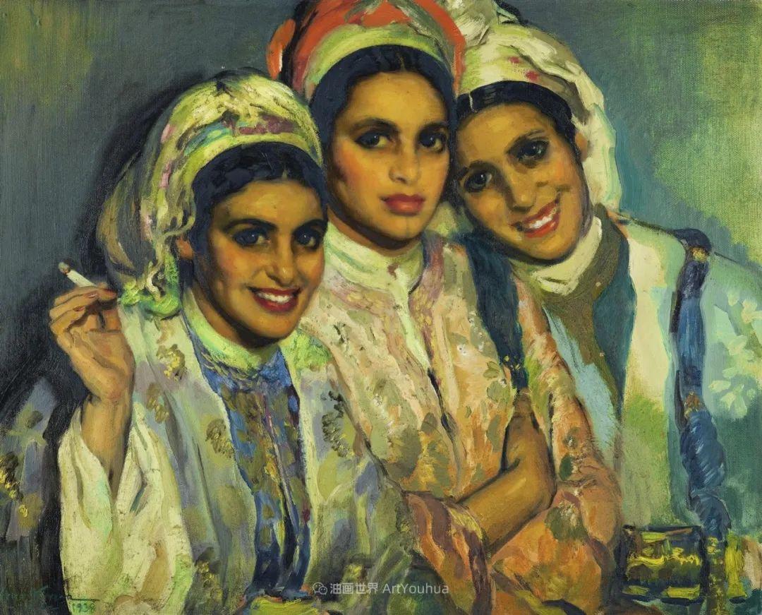西班牙画家何塞·克鲁斯·埃雷拉人物作品欣赏插图15