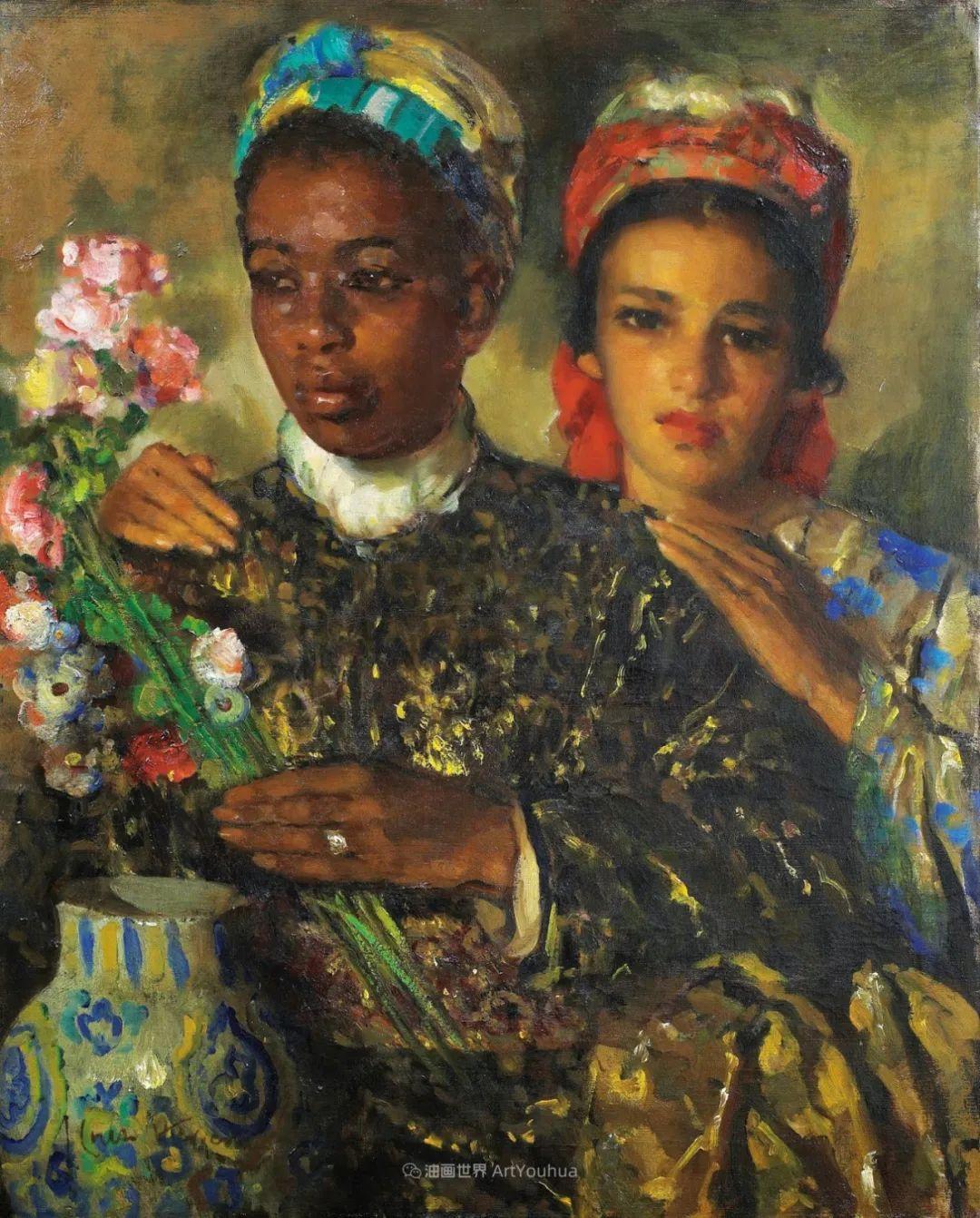 西班牙画家何塞·克鲁斯·埃雷拉人物作品欣赏插图17