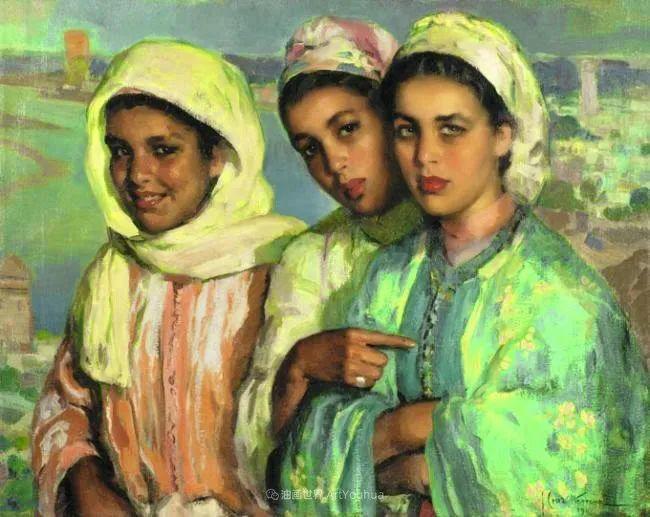 西班牙画家何塞·克鲁斯·埃雷拉人物作品欣赏插图19