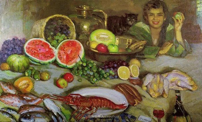 西班牙画家何塞·克鲁斯·埃雷拉人物作品欣赏插图21