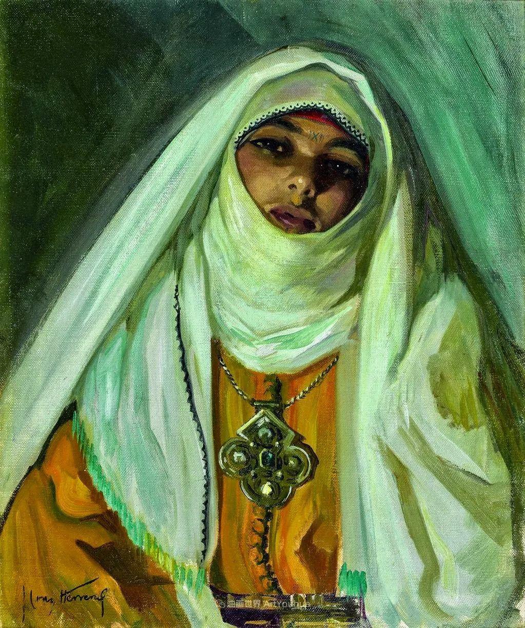 西班牙画家何塞·克鲁斯·埃雷拉人物作品欣赏插图25