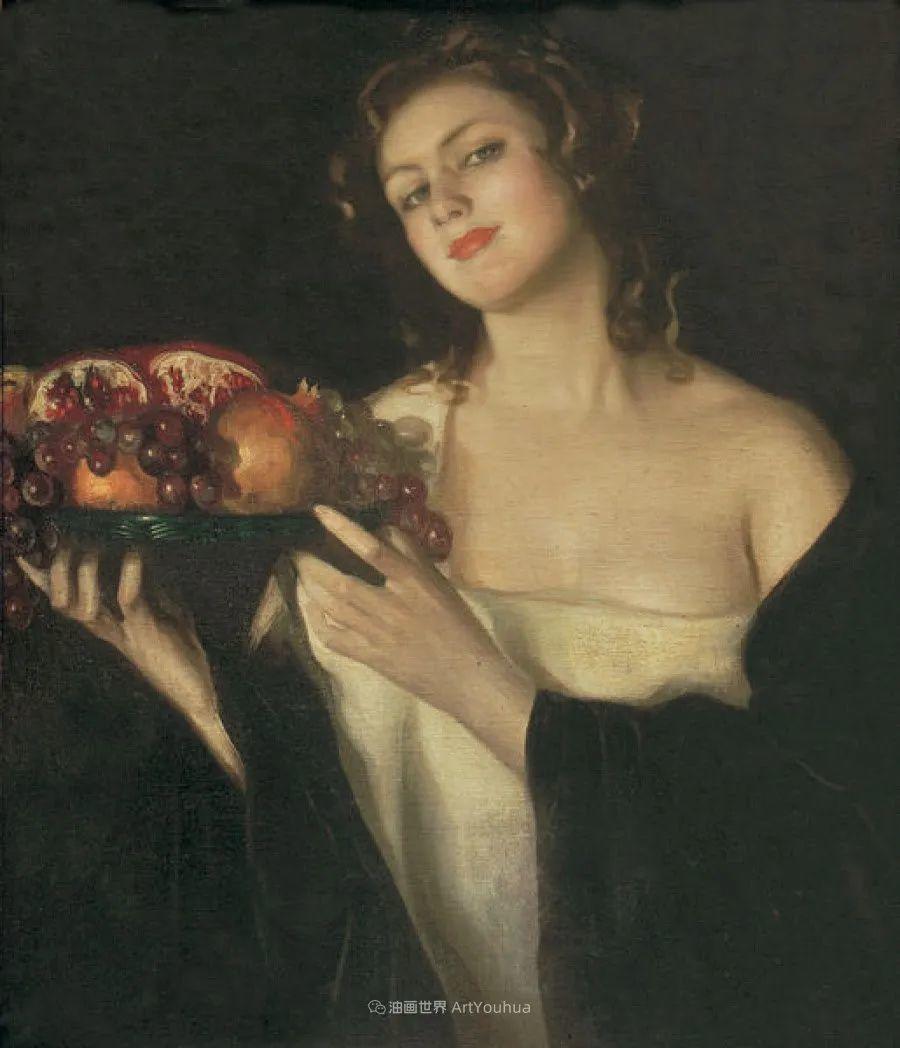 西班牙画家何塞·克鲁斯·埃雷拉人物作品欣赏插图27