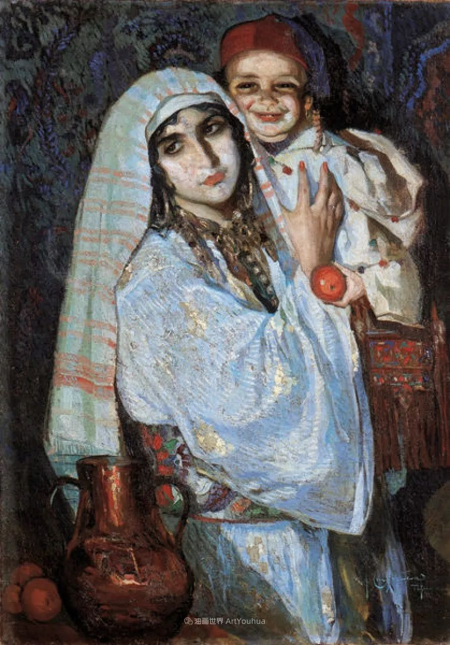 西班牙画家何塞·克鲁斯·埃雷拉人物作品欣赏插图29