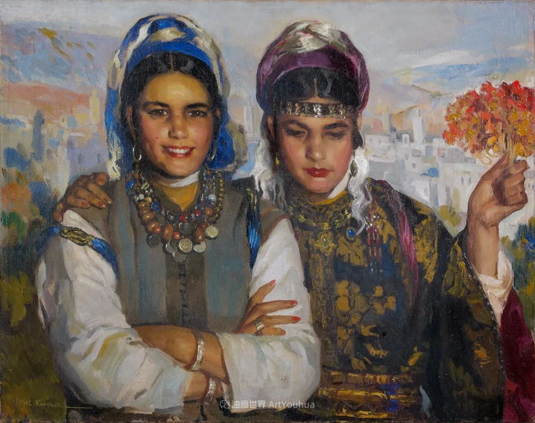 西班牙画家何塞·克鲁斯·埃雷拉人物作品欣赏插图31