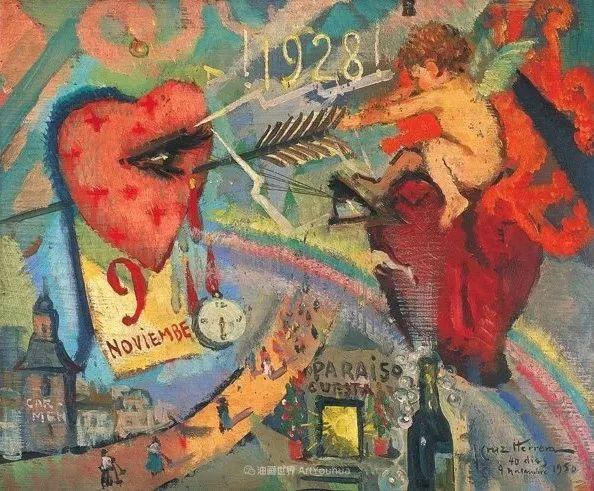 西班牙画家何塞·克鲁斯·埃雷拉人物作品欣赏插图33