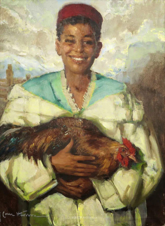 西班牙画家何塞·克鲁斯·埃雷拉人物作品欣赏插图35