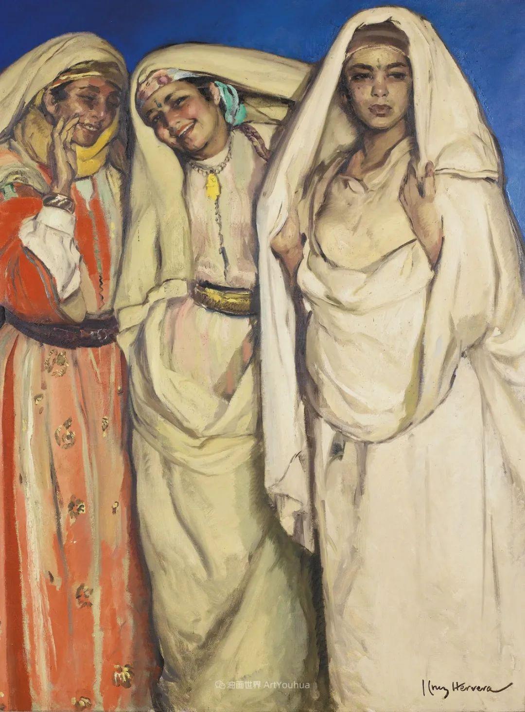 西班牙画家何塞·克鲁斯·埃雷拉人物作品欣赏插图37