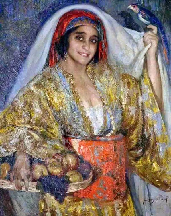 西班牙画家何塞·克鲁斯·埃雷拉人物作品欣赏插图39