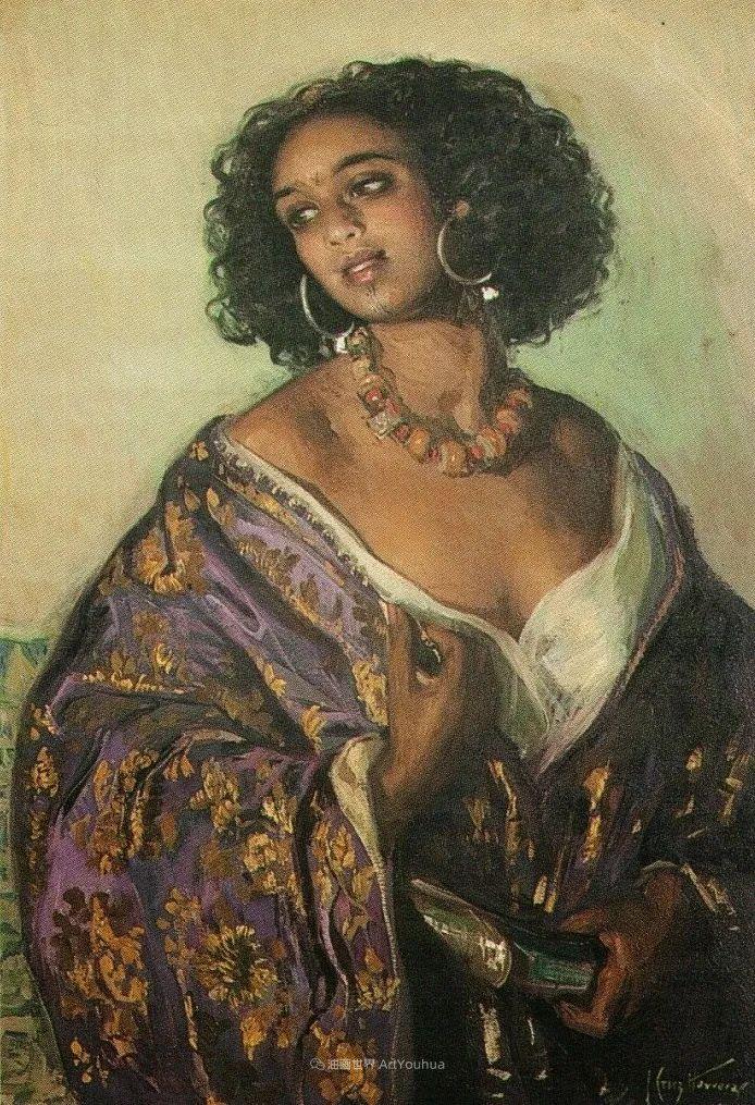 西班牙画家何塞·克鲁斯·埃雷拉人物作品欣赏插图41