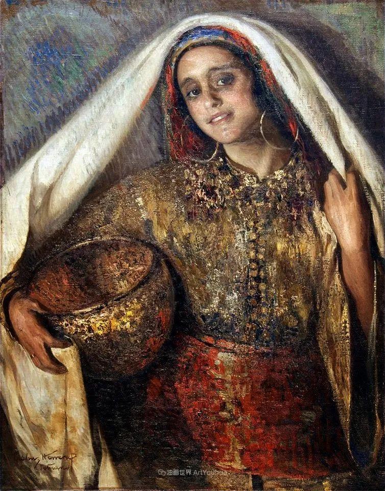 西班牙画家何塞·克鲁斯·埃雷拉人物作品欣赏插图43