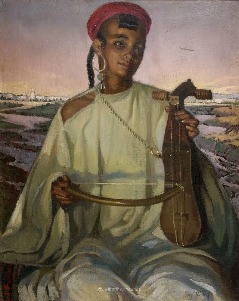 西班牙画家何塞·克鲁斯·埃雷拉人物作品欣赏插图45