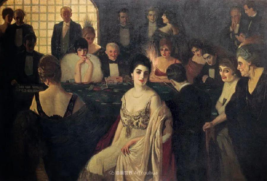 西班牙画家何塞·克鲁斯·埃雷拉人物作品欣赏插图47