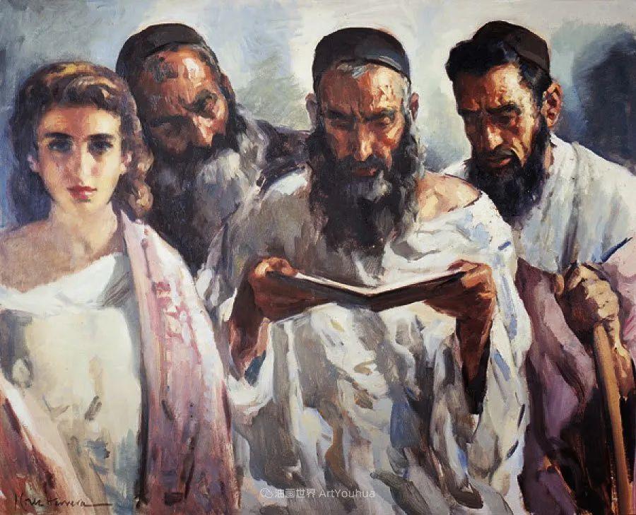 西班牙画家何塞·克鲁斯·埃雷拉人物作品欣赏插图51