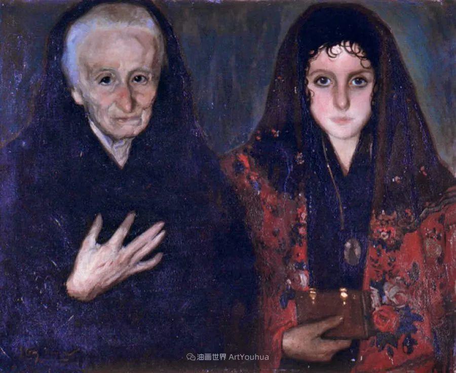 西班牙画家何塞·克鲁斯·埃雷拉人物作品欣赏插图53
