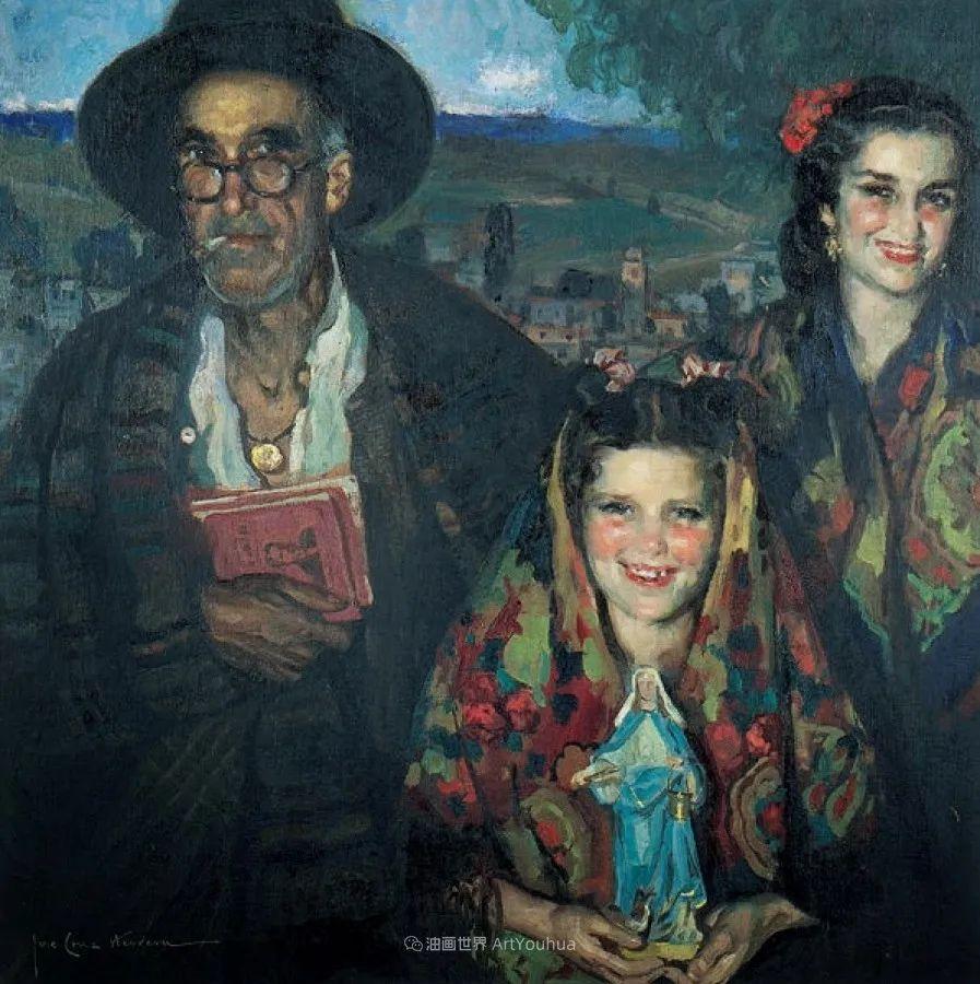西班牙画家何塞·克鲁斯·埃雷拉人物作品欣赏插图55
