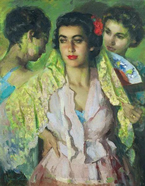 西班牙画家何塞·克鲁斯·埃雷拉人物作品欣赏插图57