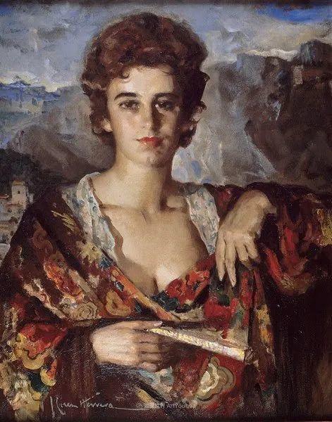 西班牙画家何塞·克鲁斯·埃雷拉人物作品欣赏插图59