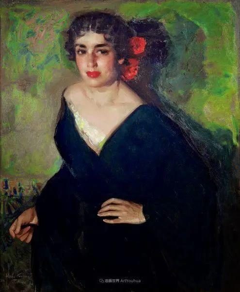 西班牙画家何塞·克鲁斯·埃雷拉人物作品欣赏插图63