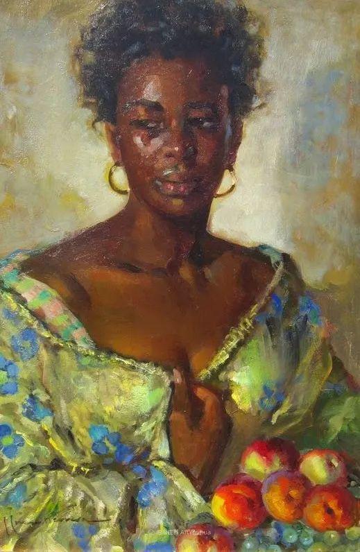 西班牙画家何塞·克鲁斯·埃雷拉人物作品欣赏插图65