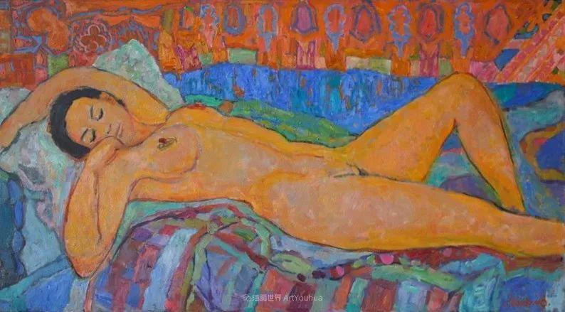 他的静物与人物作品,色彩如此的美妙!插图35
