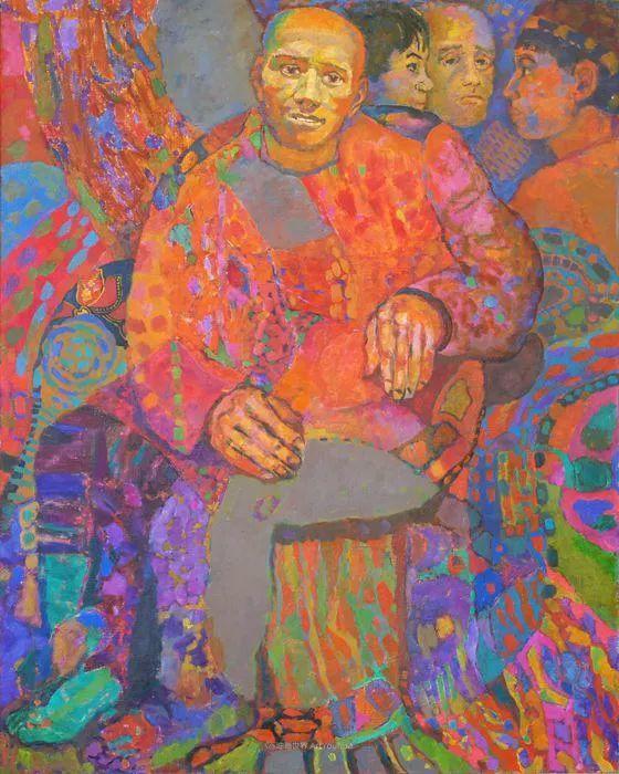 他的静物与人物作品,色彩如此的美妙!插图41