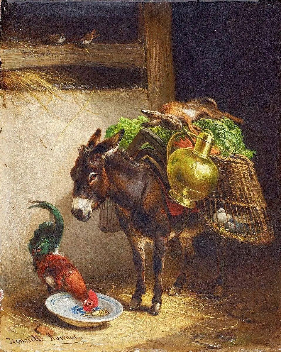 100多年前荷兰女画家笔下的狗,活灵活现!插图41